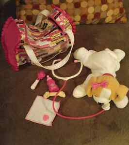 Barbie puppy vet kit