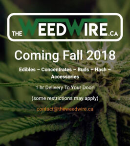 www.TheWeedWire.ca For Sale.