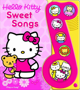 Hello Kitty Sweet Songs Play-a-Sound [Board book] - NEW - $5.00