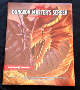 """Dungeons & Dragons"" Fifth Edition ""Dungeon Master's Screen"""