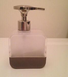 UMBRA TOOTHBRUSH HOLDER &  SOAP DISPENSERS