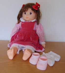 "19"" Antique/ Vintage Old-Fashioned Doll"