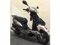 2014 NIPPONIA MIRO 125 SCOOTER LEARNER LEGAL PROJECT SILVER CAT C SPARES/REPAIR
