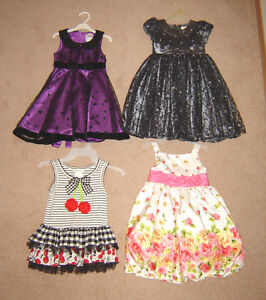 Dresses and Clothes - sizes 4, 5, 6