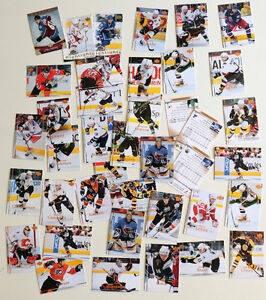 Lot de Cartes de hockey 2007-08 Upper deck