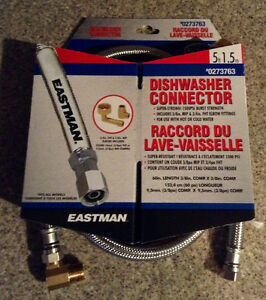 Brand New Eastman Dishwasher Connector