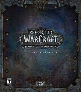 World of warcraft Warlord of Draenor Collector's edition Sealed