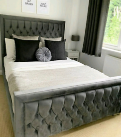 HQ VIVIENNE BED WITH MATTRESS