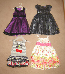 Dresses, Clothes, Swimsuits - sizes 4, 5, 6