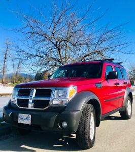 4X4 DODGE NITRO SE V6  3.6L 210HP