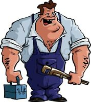 journeyman plumber for hire