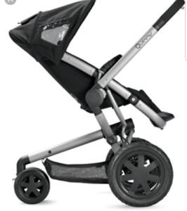 Quinny Buzz Stroller (Rocking Black)