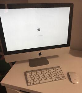 """iMac 2009 21,5"""", 500GB, 8GB, 3,06 GHz 2 Duo, clavier et souris"""