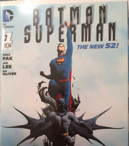 Comic Books - Batman/Superman New 52 Lot