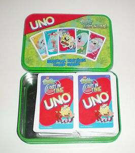 Spongebob Squarepants Lost in Time Uno Special Edition Card Game London Ontario image 1