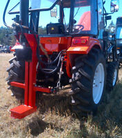 Vertical Log Splitter, Hydraulic, for Tractor 3 point hitch