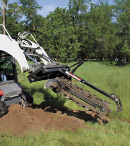 BOBCAT SKID STEER TRENCHER FROM TIMBERLAND