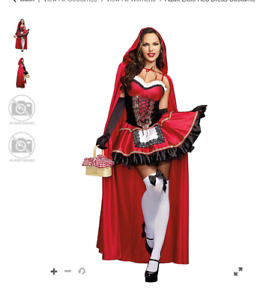 Adult Halloween Little Red Riding Hood Costume