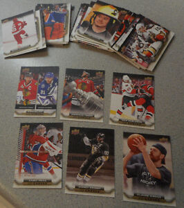 2015-16 , Upperdeck Canvas, Serie 1 , Completed Set (C1 - C90) Gatineau Ottawa / Gatineau Area image 1