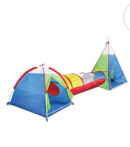 3 in one tipi, tent and tunnel