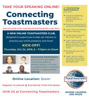 Connecting Toastmasters - Online Club