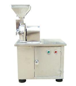 Open Box Hammer Mill Pulverizer Spice Grain Grinder Grinding Machine 150022