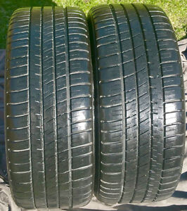 Pair of Michelin Pilot Sport A/S 3 225/45 ZR 17 91Y Tires