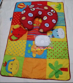Mothercare baby activities play mats & baby nursing pillows hardly use