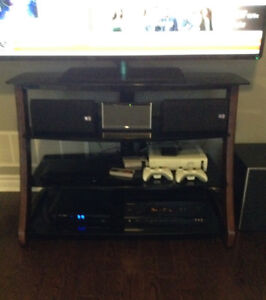 Elevated TV Entertainment Unit