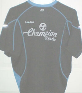 Sugoi London Champion Bicycles Size Small Biking T Shirt