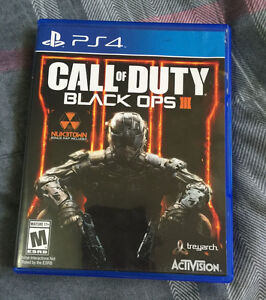 Ps4 black ops 3 game (brand new)