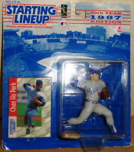 Chan Ho Park Los Angeles Dodgers Starting Lineup Figure