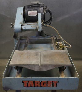 """10"""" Target wet tile saw, reliable"""