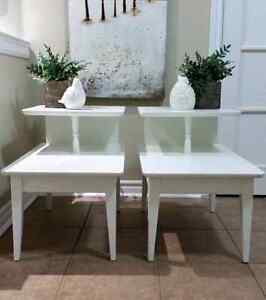 Shabby'd To New Chic Vintage End Tables