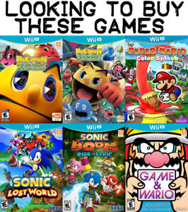 Buying These Games For WiiU