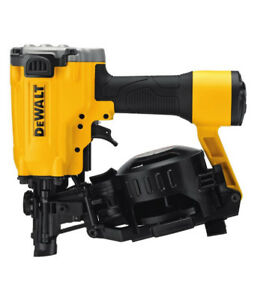 Dewalt Pneumatic 15-Degree Coil Roofing Nailer (BRAND NEW) $199