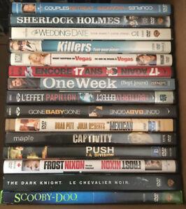 DVD movies - $3 each