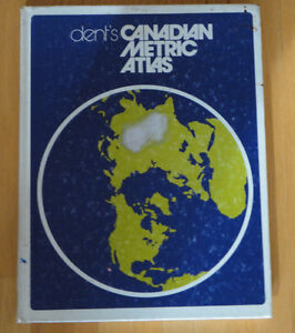 Dent's Canadian metrics atlas hardcover London Ontario image 3
