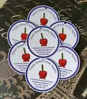 PERSONALIZED RIBBON BUTTONS TATTOOS STICKERS WEDDINGS FUNERALS