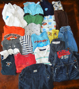 Lot of 21 items - Baby BOY clothes - 24 months old