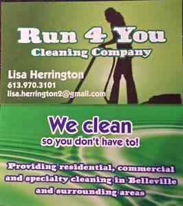 Cleaning hours available book yours with us now  Belleville Belleville Area image 1