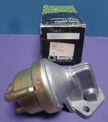 Vintage Nib Nos Savara  9 06 109 11 Fuel Pump Part 4335818 For Fiat X1 9 1974 80