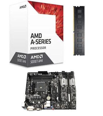 Aufrüstkit Bundle Kit AMD A8 9600 / A320M-HDV / 8 GB DDR-4 PC2400