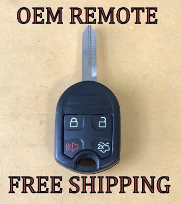 Oem Ford 80 Bit Sa Keyless Remote Head Combo Rhk Fob Transmitter 164 R8073