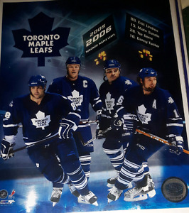 Toronto Maple Leafs hockey picture print