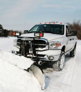 Snowplowing driveways city and rural 24 hours