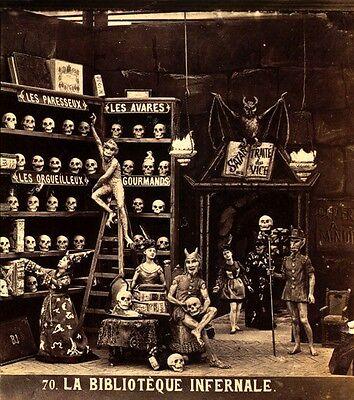 Weird 1880's Stereograph