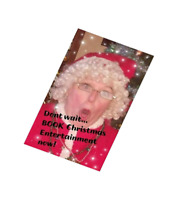 Time to BOOK your childrens Christmas Party Entertainment