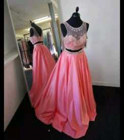 Prom dress and accessories