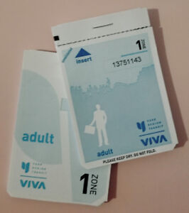 Unused adult YRT tickets for sale